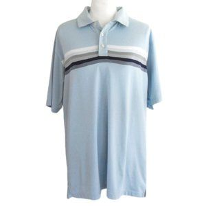 Bolle Golf Men's Large Blue Golf Polo Shirt